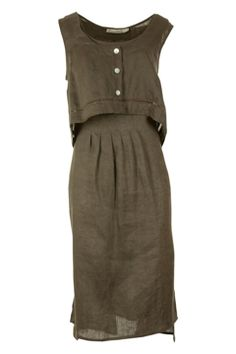 Hammock & Vine Washed Linen Vest Dress $139