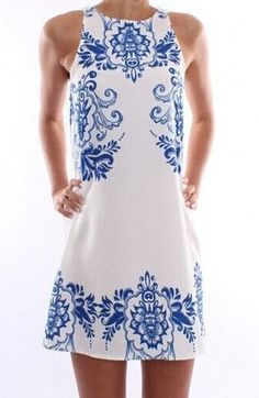 White Round Neck Sleeveless Floral Slim Dress. Fashion : Dresses : White Round Neck Sleeveless Floral Slim Dress - See more at: http://spenditonthis.com/listing-40544-white-round-neck-sleeveless-floral-slim-dress.html#sthash.0EAfQT0H.dpuf