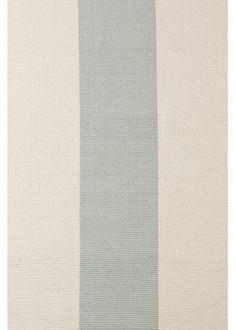Dash & Albert Yacht Stripe Ocean Woven Cotton Rug via Layla Grayce