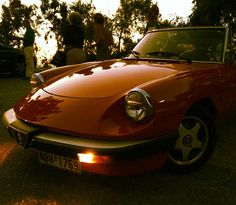 Dream car! Alfa Romeo Spider 1980