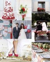 Inspiration Boards: Red - Elizabeth Anne Designs: The Wedding Blog