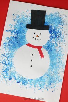 resist art snowman craft for kids Winter Crafts For Kids, Kids Crafts, Sneezy The Snowman, Touch Math, Snowman Crafts, Winter Art, Love Is Free, Art Projects, Project Ideas