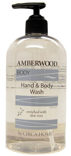 Amberwood Hand & Body Wash | green 3 | #USAMade #NaturalSkinCare #AllNatural