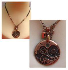 Bronze Steampunk Link & Chain Necklace  http://cgi.ebay.com/ws/eBayISAPI.dll?ViewItem=160855851940