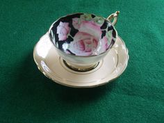 Paragon Tea Cup and Saucer by Rocky1975 on Etsy, $45.00