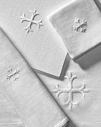 Altar linens - small linen pieces