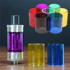Description: Transparent Pyrex Glass Tank Tube Cap Storage Container For Toptank Mini Mod Atomizer Specifications: Material: Glass Inner Diameter: Approx. 20mm / 0.79 inch Size: Approx. 22×26.5mm / 0.87×1.04 inch Compatible With: For Toptank Mini Mod Atomizer Color:...