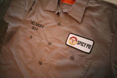 Delivery Boy Shirt - $36