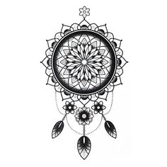 COKOHAPPY Temporary Tattoo , Dream-Catcher Floral for Men Women - Brought to you by Avarsha.com