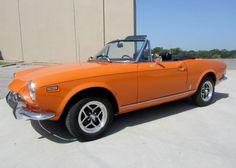 This car will be featured at our Dallas Auction on Nov. at Dallas Market Hall. Nov 21, November, Dallas Market Hall, Dallas Auction, Fiat, Convertible, Marketing, Sports, November Born