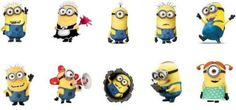 Minions decals - water transfer - AMAZING quality and FREE SHIPPING by IndiePolish on Etsy