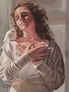 At Rest by Mary Jane Q Cross, Oil