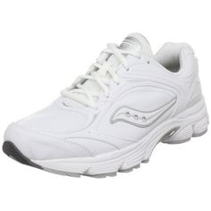 14508382536e3 Amazon.com   Saucony Men s ProGrid Echelon LE Walking Shoe, White Silver,  10 W US   Walking