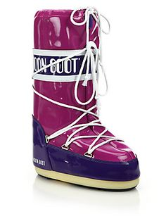 Moon Boot Vinyl Lace-Up Moon Boots used in 1960s as unisex see through  rudi gernreich