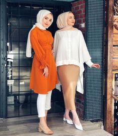 Hijab Chic, Modest Fashion Hijab, Modesty Fashion, Casual Hijab Outfit, Fashion Wear, Modest Outfits, Fashion Outfits, Dress Fashion, Muslim Women Fashion