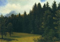 Albert Bierstadt - Mountain Resort