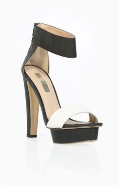 Billini Glory Heels Black And White | Beginning Boutique
