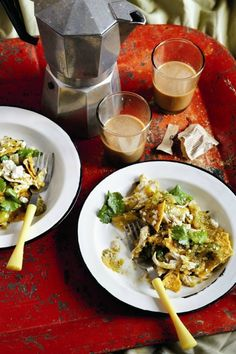 Chilaquiles with Tomatillo Salsa