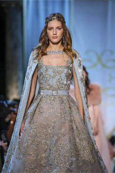Elie Saab Couture Falll Winter 2017 Collection in Paris