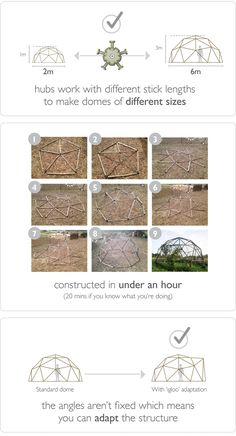 hubs = geodesic domes made simple by Chris Jordan and Mike Paisley — Kickstarter