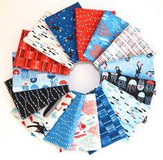 Come Dive With Me Fat Quarter Bundle by Windham Fabrics