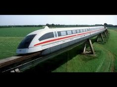 The Transrapid 08 is also known as Shanghai maglev train.