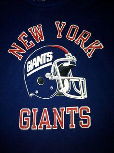 New York Giants 80s NWT unworn vintage by SportsSportsSports