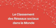 Le classement des #RéseauxSociaux. by webmarketing-conseil.fr