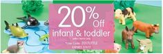 Tri Cities On A Dime: SAVE $20% OFF INFANT & TODDLER PRODUCTS AT DISCOUN...