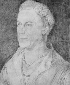 Portrait of Jakob II.''Rich'' Fugger  - Albrecht Dürer