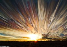 A new look: The motion of the sun, stars and clouds, which is normally very subtle, appears very pronounced