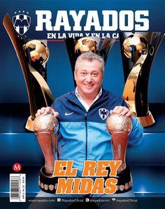 Revista #Rayados #23. En portada Víctor Vucetich #Futbol #Soccer