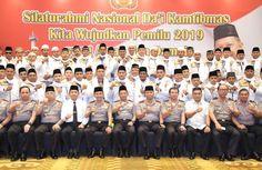 Silaturahmi Nasional Dai Kamtibmas 2018 dibuka Kapolri dengan Tema Kita Wujudkan Pemilu 2019 yang Aman dan Damai