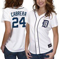 Majestic Miguel Cabrera Detroit Tigers 2012 World Series Bound Women's Replica Jersey