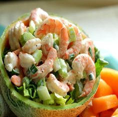 How to Make Shrimp Salad #stepbystep