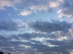 空 朝焼け 2014.12.24