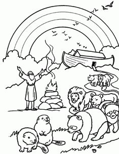 Tiny Hearts Blog Lesson 13 Noahs Ark