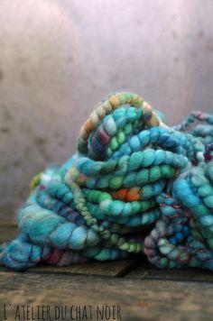 Neptune handspun yarn