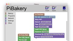 Windows/Mac: Installing and setting up a vanilla version of the Raspberry Pi's main operating system, Raspbian, is easy enough. If you want to do more with it, like set up custom software to run on boot, or connect to a Wi-Fi network, it's a bit of a pain. PiBakery simplifies all that dramatically.