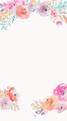 pink and purple watercolor floral iphone background Flor Iphone Wallpaper, Wallpaper Flower, Flower Backgrounds, Nature Wallpaper, Wallpaper Backgrounds, Homescreen Wallpaper, Watercolor Wallpaper, Painting Wallpaper, Trendy Wallpaper