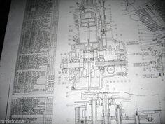 Harley davidson shovelhead evolution engine blueprint flh fx fxr harley davidson plan drawing print 61ci knucklehead engine blueprint el hd diagram harleydavidson malvernweather Images