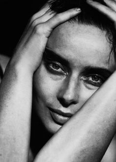 Peter Lindbergh  Isabella Rossellini  [via Everyday_I_Show]