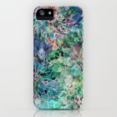 Banksia Cool Blue iPhone & iPod Case