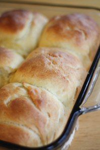 Old Fashioned Dinner Rolls.