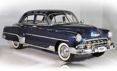 1952 Chevrolet Deluxe Four Door Sedan
