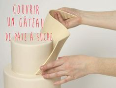 G teau p te sucre bleu et gris toile nuage voiture - Comment decorer un gateau avec pate a sucre ...