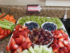 Mickey Mouse fruit tray