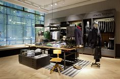 Marc OPolo flagship store, Munich store design