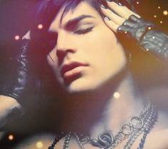 Adam Lambert a beautiful Lee Cherry photograph  from FYE  cd photoshoot