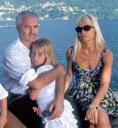 Gianni, Allegra & Donatella Versace